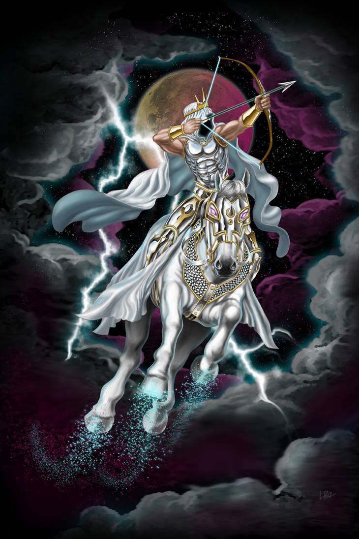 conquest Four Horsemen by LazaroRuiz