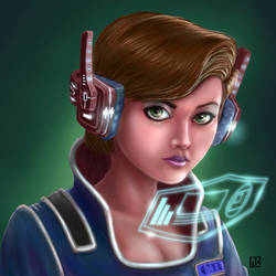 Cyberpunk Medic by LazaroRuiz