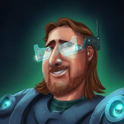 Cyberpunk Tech by LazaroRuiz