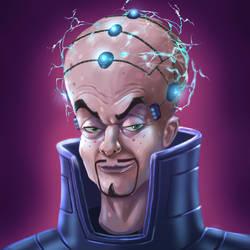 Evil Ed Cyberpunk Technomancer by LazaroRuiz