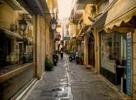Rethymno old town by BillyNikoll