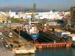 Piraeus shipyard