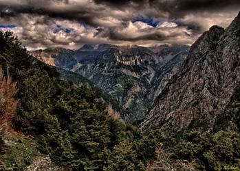 Samaria Gorge by BillyNikoll