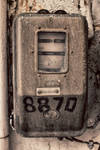 Old Electromechanical Energy Meter by BillyNikoll