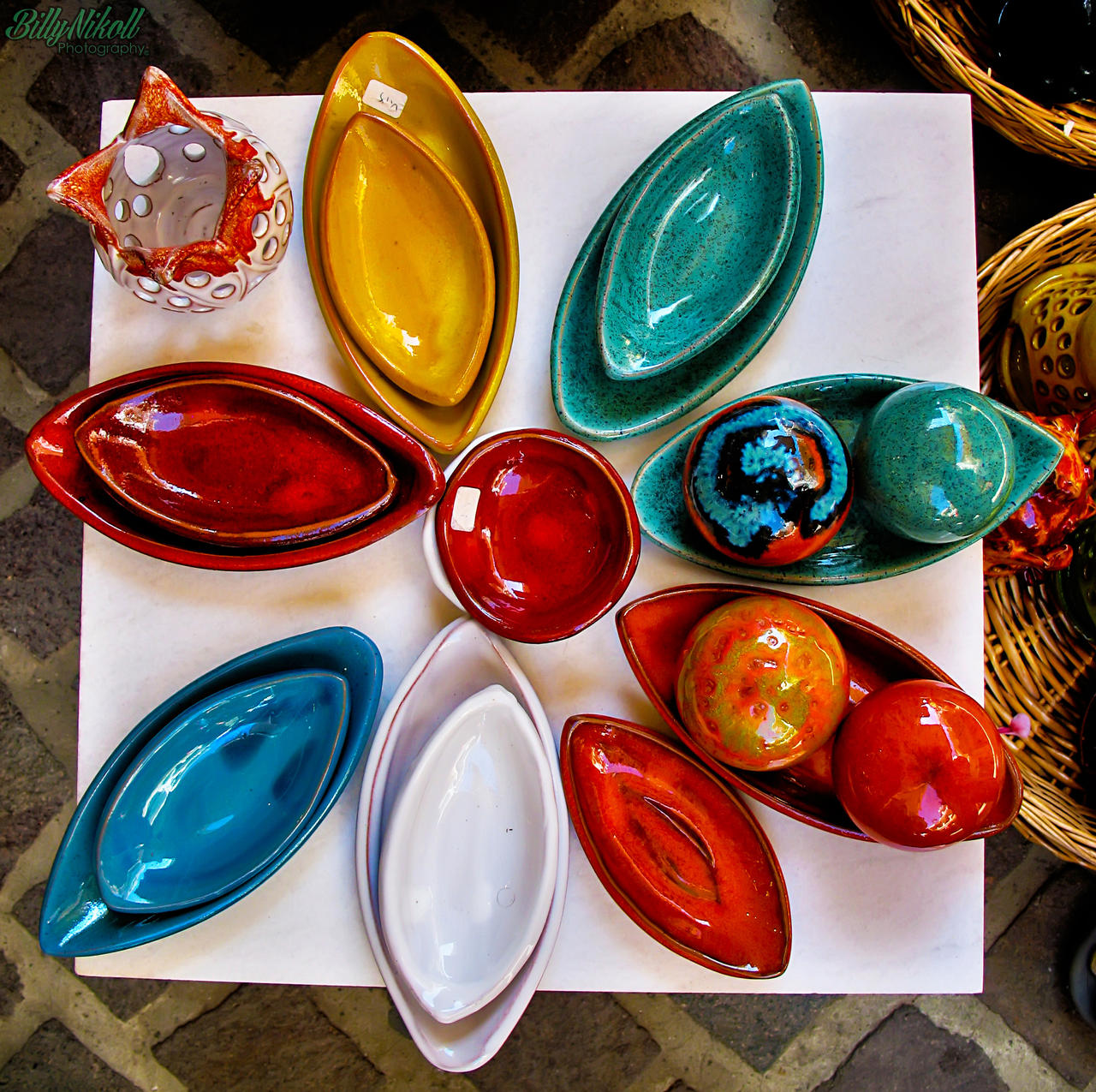 Traditional Handmade Ceramic Bowls by BillyNikoll