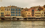 Autumn in the old Venetian port of Chania V