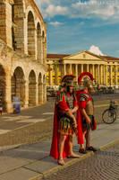 Romans in Verona Arena 92 by BillyNikoll