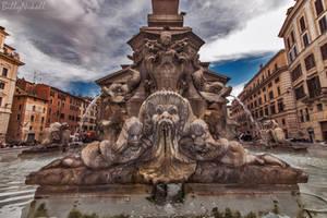 Fontana del Pantheon by BillyNikoll