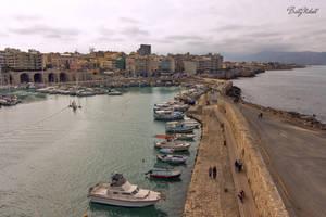 Port of Heraklion by BillyNikoll