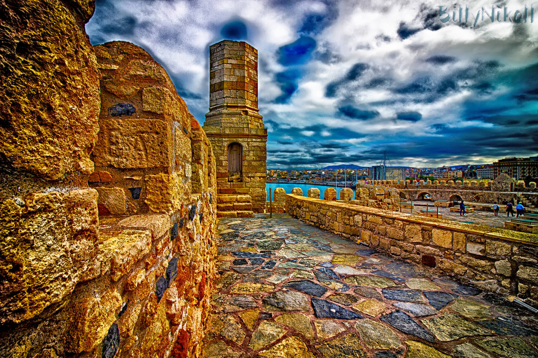 Venetian Fortress of Koules HDR I by BillyNikoll