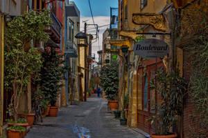 Walking in the old town by BillyNikoll