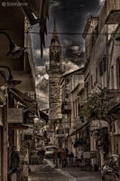 Walking in the old town HDR by BillyNikoll