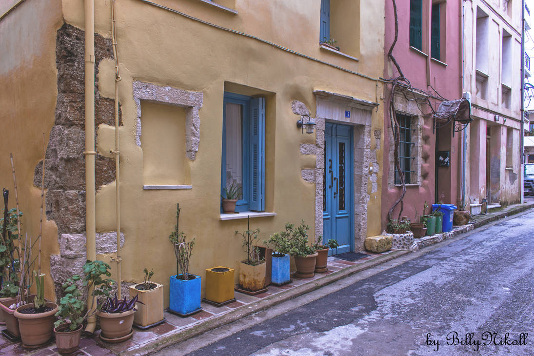 Neighborhoods Of The Old City of Chania IV by BillyNikoll