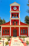 Orthodox Church with clock tower