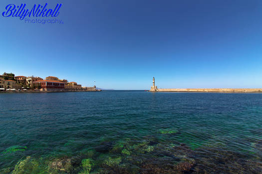 The old port of Chania v5