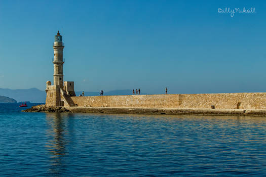 The old lighthouse of Chania