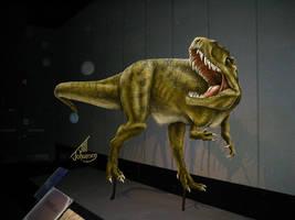 Allosaurus by JillJohansen