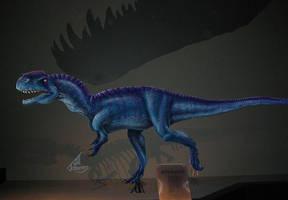 Monolophosaurus by JillJohansen
