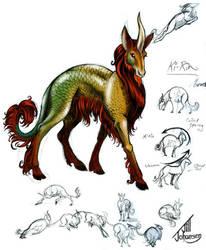 Ki-Rin Character Design by JillJohansen