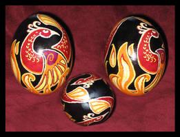 Phoenix Egg by JillJohansen