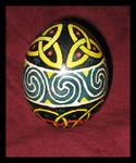 Celtic Egg by JillJohansen