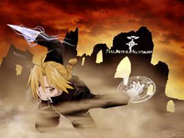 ed runnin by mrs-flame-alchemist