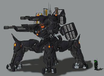 CER-476 Gladiator by Ellundiel