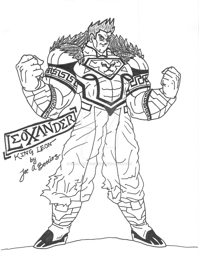 Préférence Leoxander (King Leon) DRAGONBALL Z style by DivineComics on DeviantArt QD04