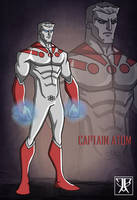Captain Atom Redesign by WARBOUND-President