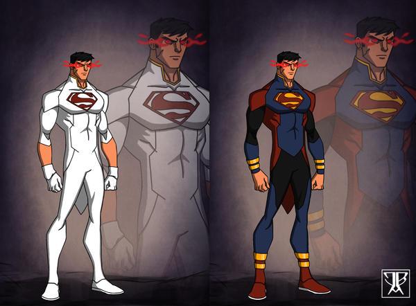 Superboy by KingLeonUniverse