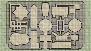 Crypts of Beseyvane (Dungeon Map)