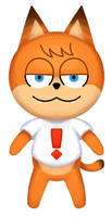 Animal Crossing Bubsy Returns