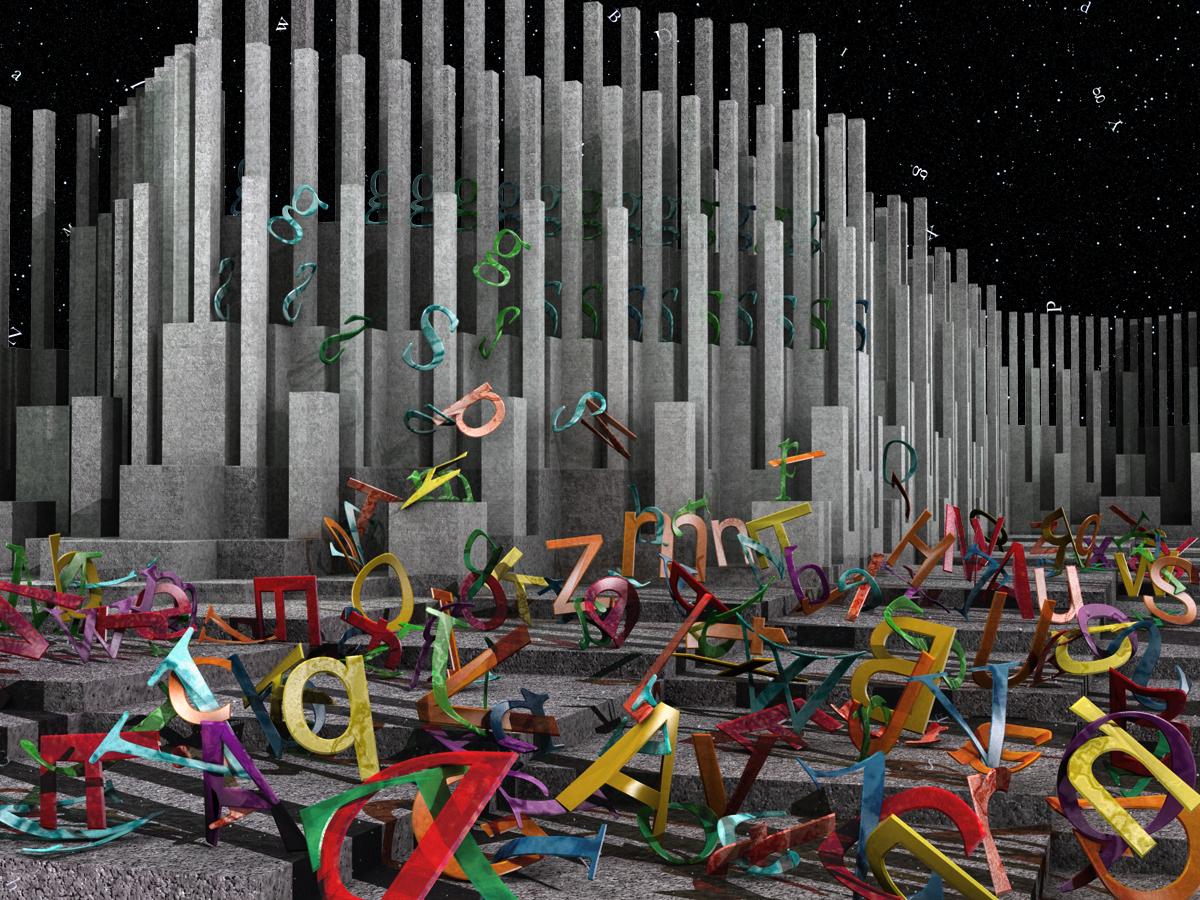 50 Fantastic 3D Text Designs