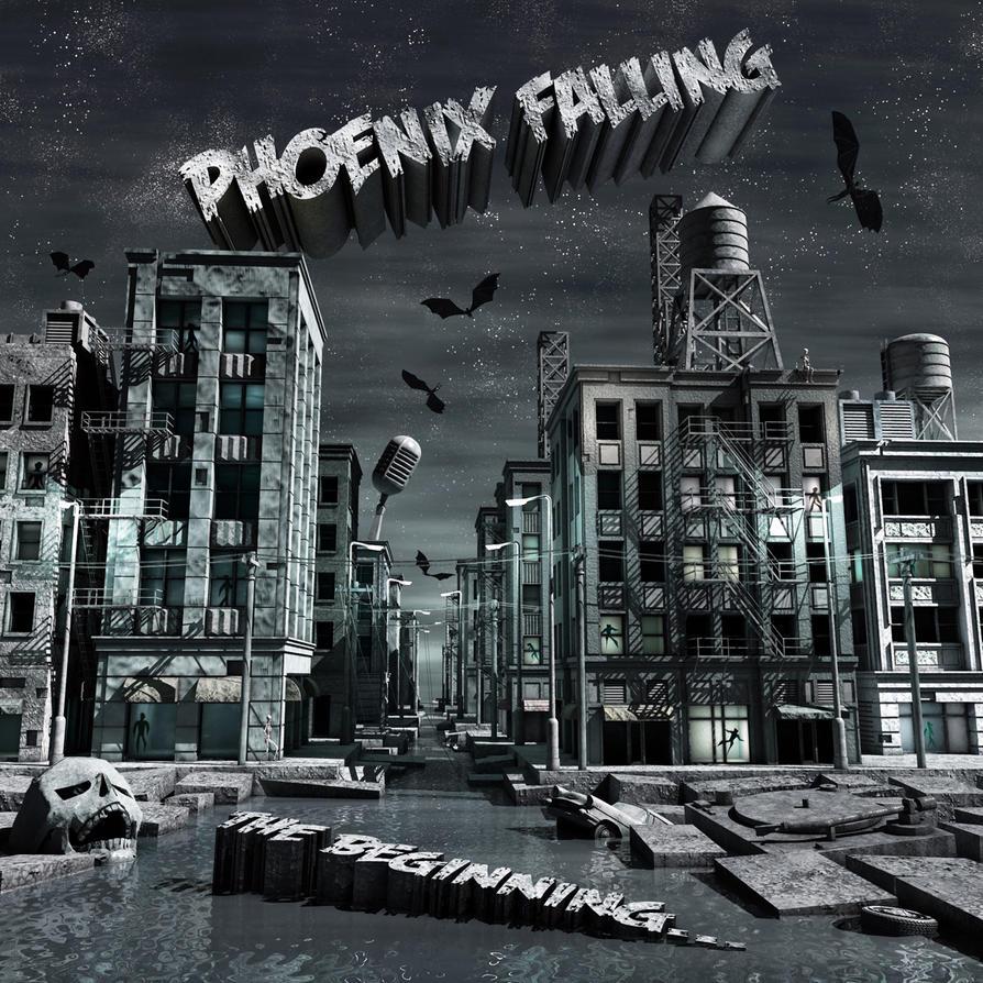 Phoenix Falling 1200 Square by Jollard