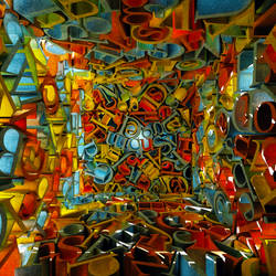 Garamond Cube 12 square by jleoc