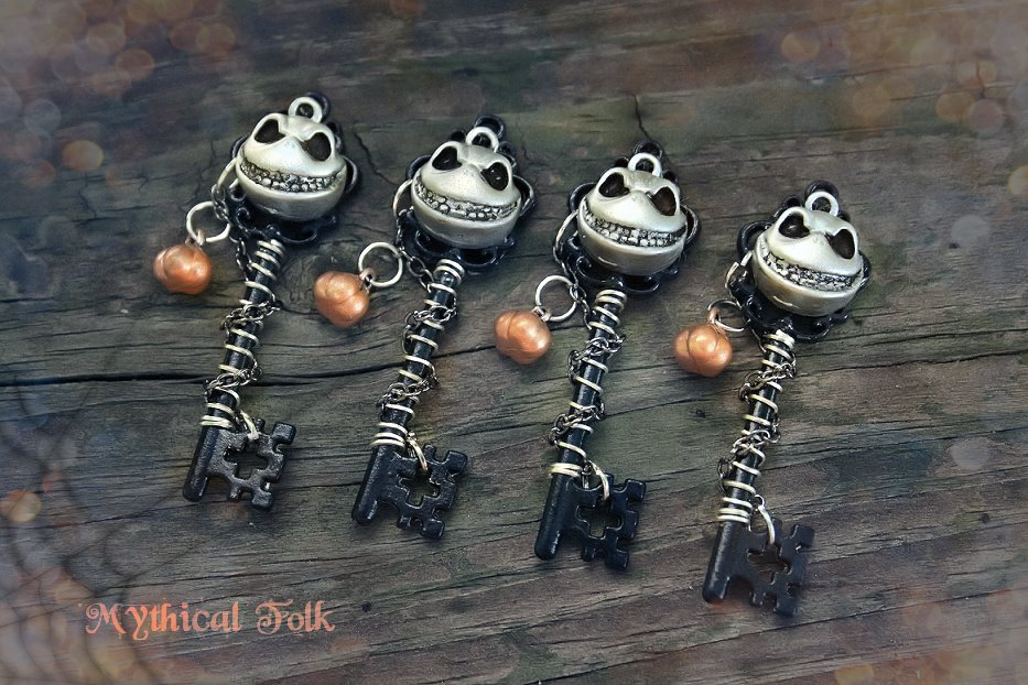 Jack Skellington Key Set by MythicalFolk