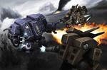 40k-Dreadnought fight - final