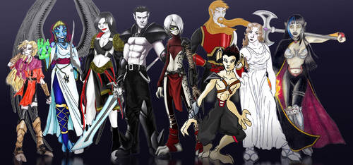 the vampires of nosgoth by thevampiredio