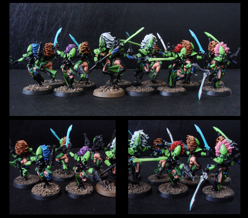 eldar army - sexy banshee by thevampiredio