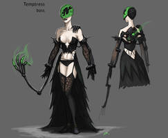Temptress by thevampiredio