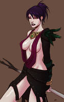 Morrigan by thevampiredio