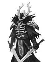 Altansar warlock by thevampiredio
