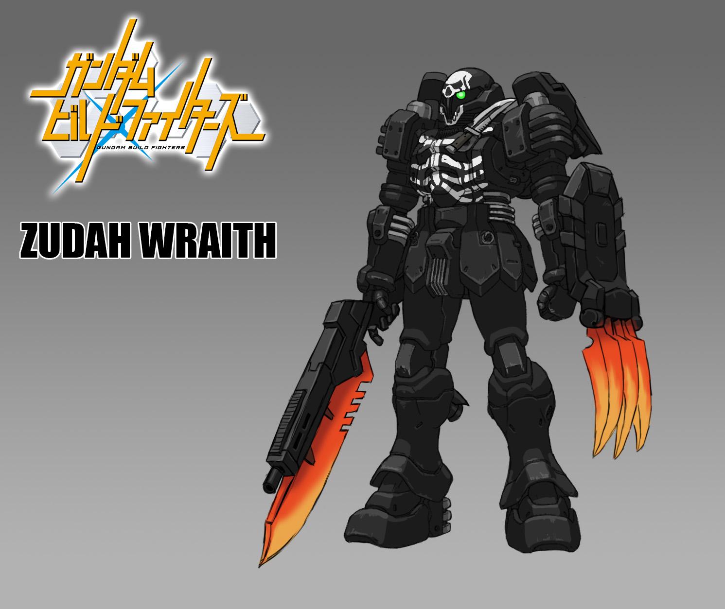 gundam build fighter zudah by thevampiredio