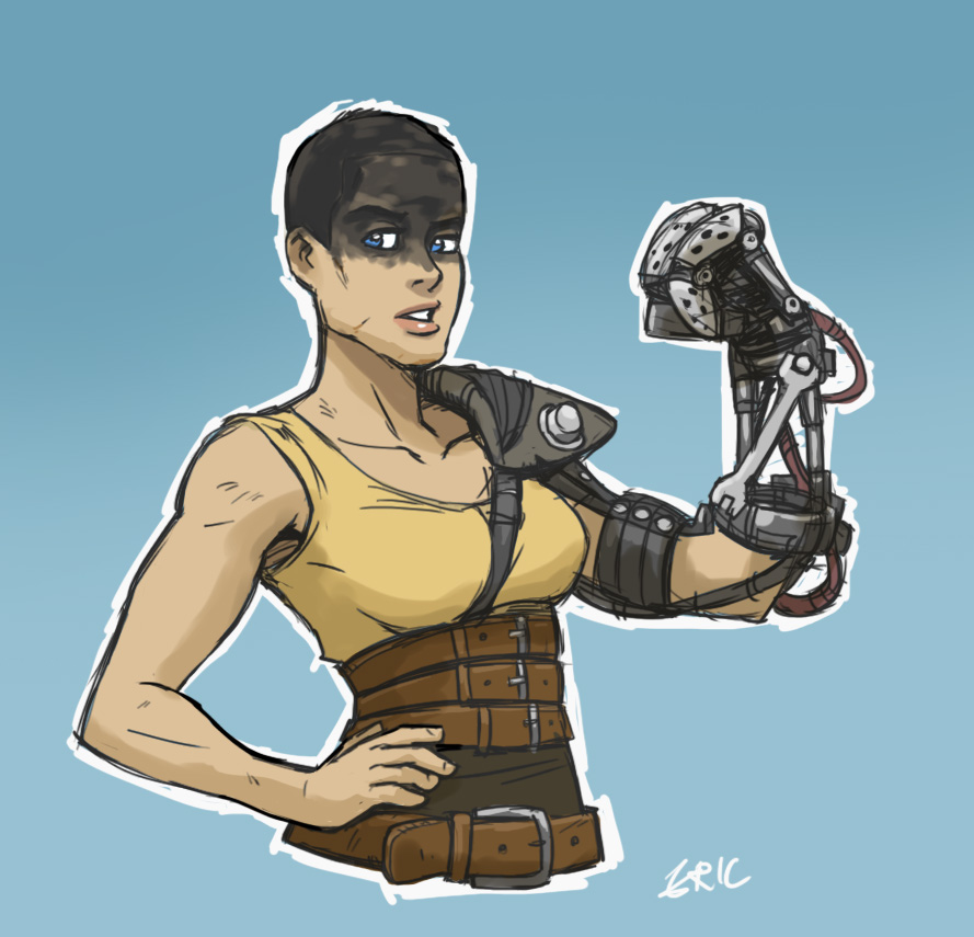 madmax Furiosa by thevampiredio