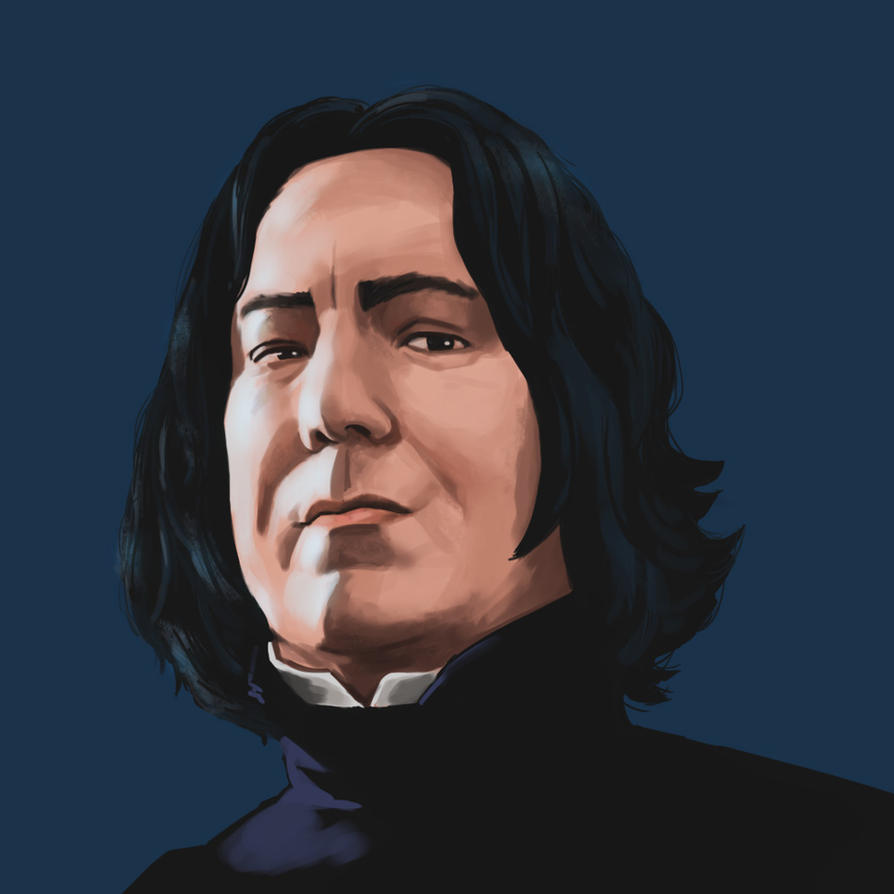 Alan Rickman by thevampiredio