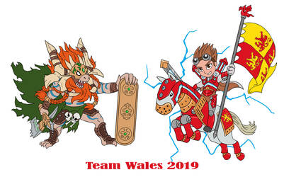 wales team warmachine 2019 by thevampiredio