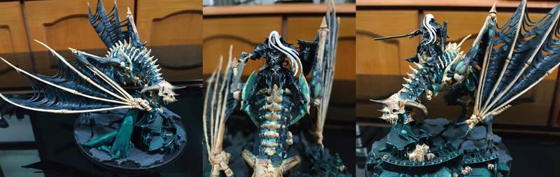 Vampire prince on death dragon