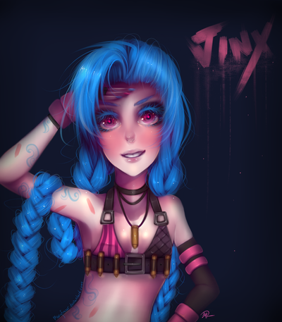 League of Legends - Jinx by maryfraser