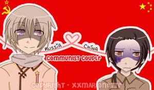 +APH+ Russia and China by XoXWingedAngelXoX