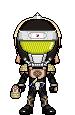 Kamen Rider Kurokage Donguri Arms by LiasDan